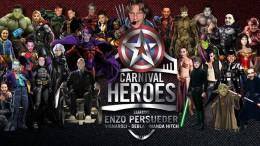 ✫ CARNIVAL HEROES ✫ Martedi Grasso 2016 ✫
